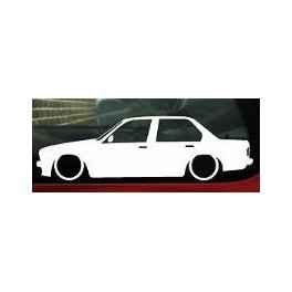 Autocolante - BMW E30 Limousine