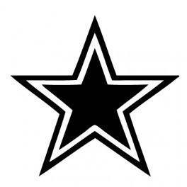 Autocolante - Estrela