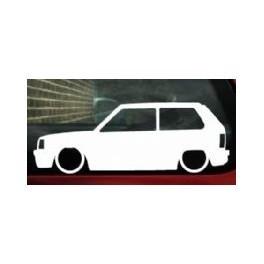 Autocolante - Fiat Panda