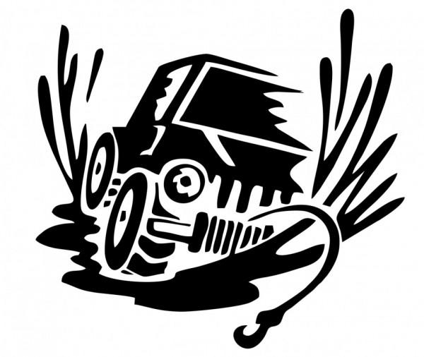 Autocolante - Jipe com Gincho 2