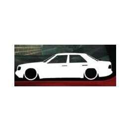Autocolante - Mercedes E W124