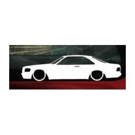 Autocolante - Mercedes W126 Coupe