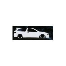 Autocolante - Nissan Almera 3 Portas