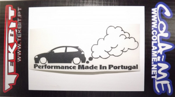 Imagens Autocolante - Performance made in Portugal