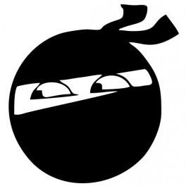 Autocolante - Smile Ninja