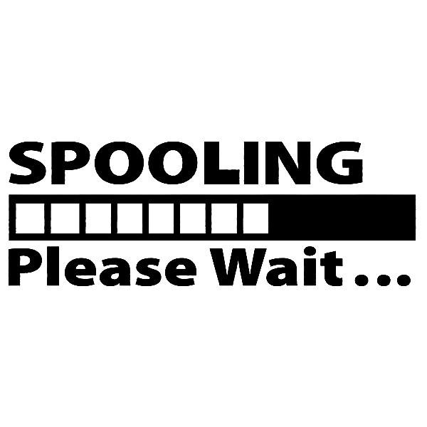 Imagens Autocolante - Spooling please wait...