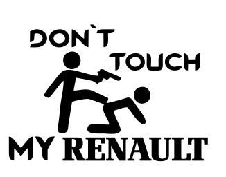 Autocolante - Touch renault