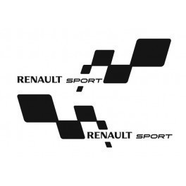 Imagens Autocolantes - Renault Sport (Par)