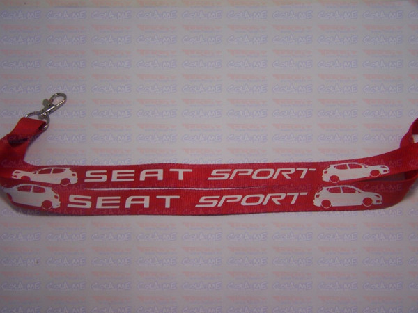 Fita Porta Chaves - Seat Sport Ibiza 6j