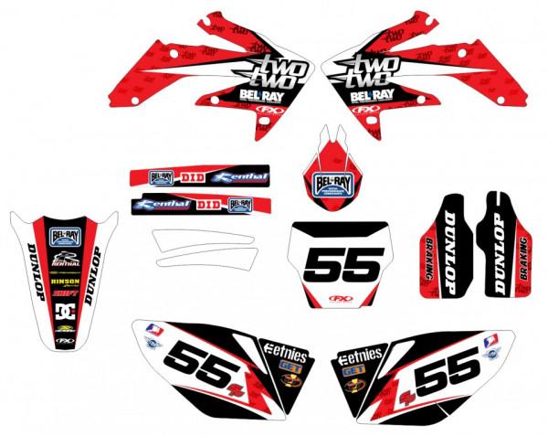 Imagens Kit Autocolantes Para Honda CRF 250 04-09