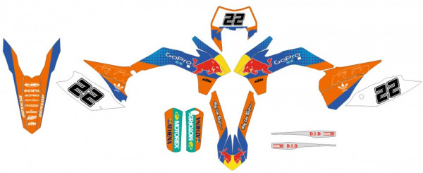 Imagens Kit Autocolantes Para KTM SX 13-15