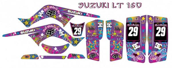 Imagens Kit Autocolantes Para  Suzuki LT160