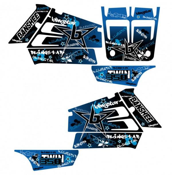 Imagens Kit Autocolantes Para Yamaha Banshee 350