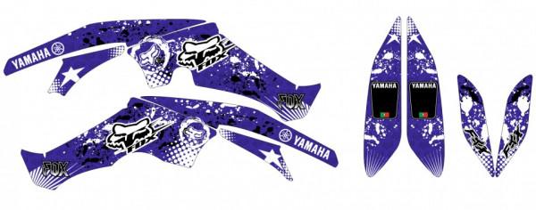 Kit Autocolantes Para  Yamaha Raptor 350