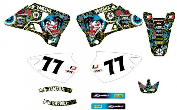 Imagens Kit Autocolantes Para Yamaha YZ 125 / 250 96-01