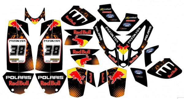 Kit de autocolantes para Polaris Predator 500