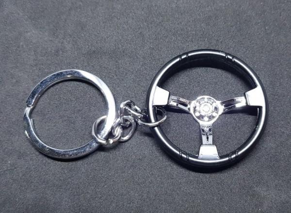 Porta Chaves com Volante Preto