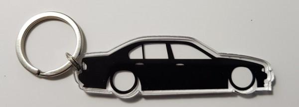 Porta Chaves de Acrílico com silhueta de BMW E39