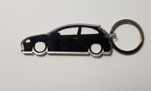 Porta Chaves de Acrílico com silhueta de Seat Ibiza 6L