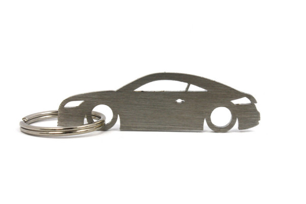 Porta Chaves em inox com silhueta com Audi TT 8J