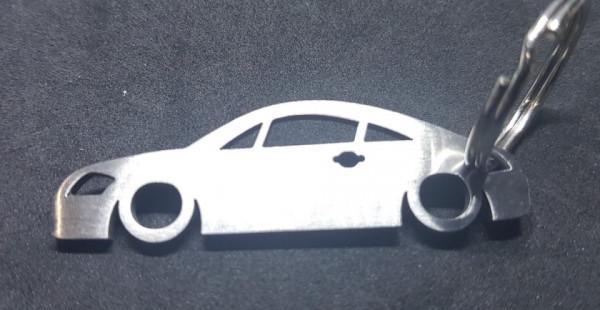 Porta Chaves em inox com silhueta com Audi TT