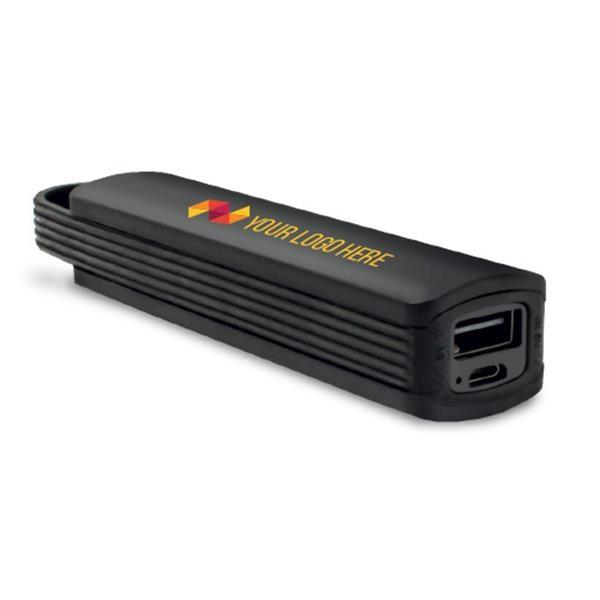 Powerbank 2200mAh com logótipo impresso