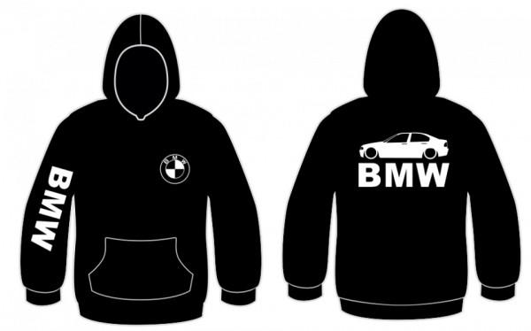 Sweatshirt com capuz para BMW E46 Limousine