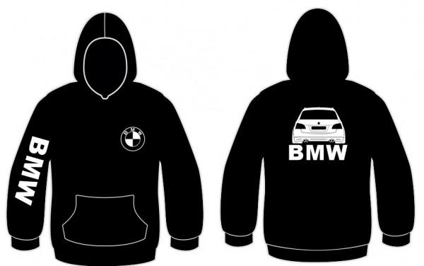 Sweatshirt com capuz para BMW E60 Touring
