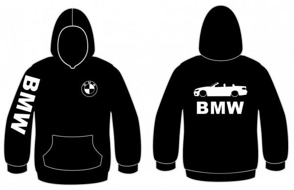 Sweatshirt com capuz para BMW E93 Cabrio