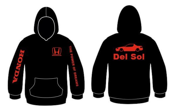 Imagens Sweatshirt com capuz para Honda del sol