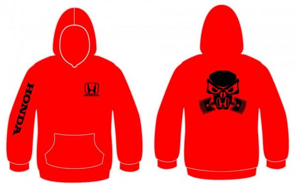Imagens Sweatshirt com capuz para Honda Máscara