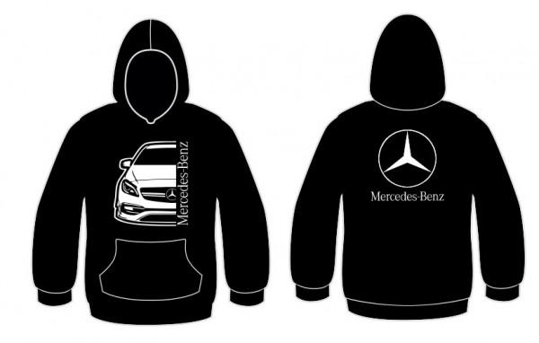 Sweatshirt com capuz para Mercedes a45