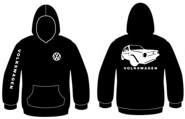 Imagens Sweatshirt com capuz para Volkswagen Golf MK1