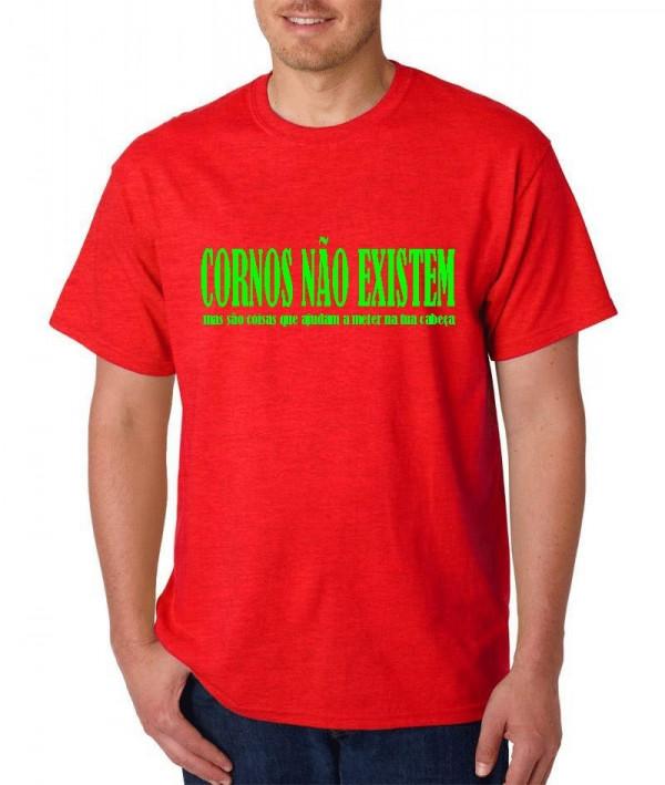 Imagens T-shirt  - Cornos Não Exitem
