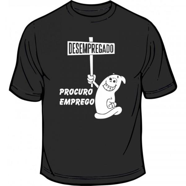 Imagens T-shirt - Desempregado, Procuro Emprego