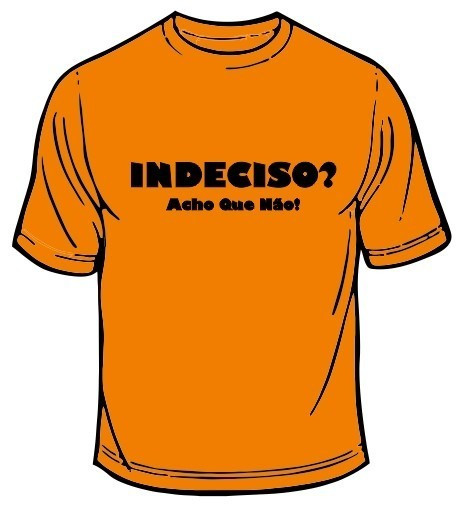 Imagens T-shirt - Indeciso