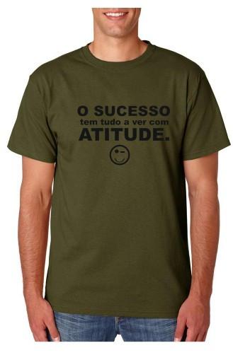 Imagens T-shirt  - O Sucesso tem tudo a ver com ATITUDE