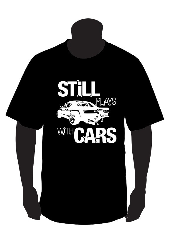 Imagens T-shirt para  still plays with cars