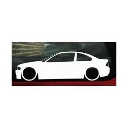 Autocolante - BMW E46 Coupe