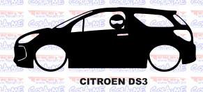 Autocolante - CITROEN DS3 Com Stig