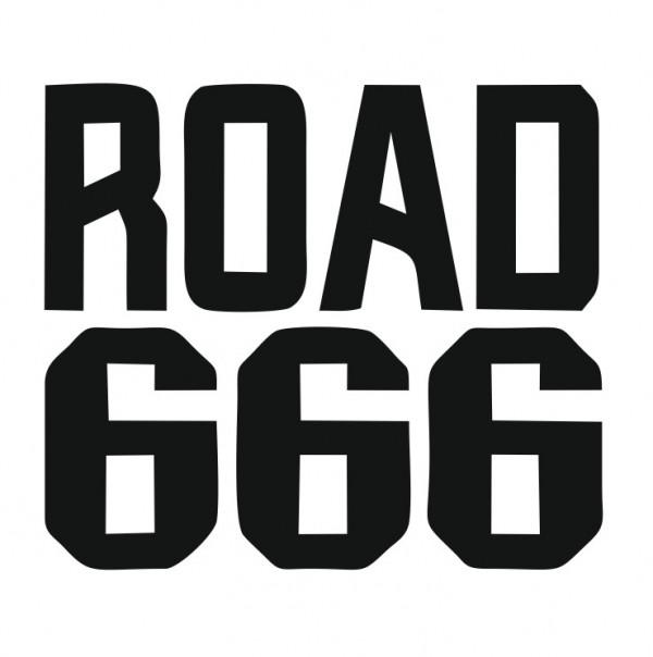 Autocolante com Road 666