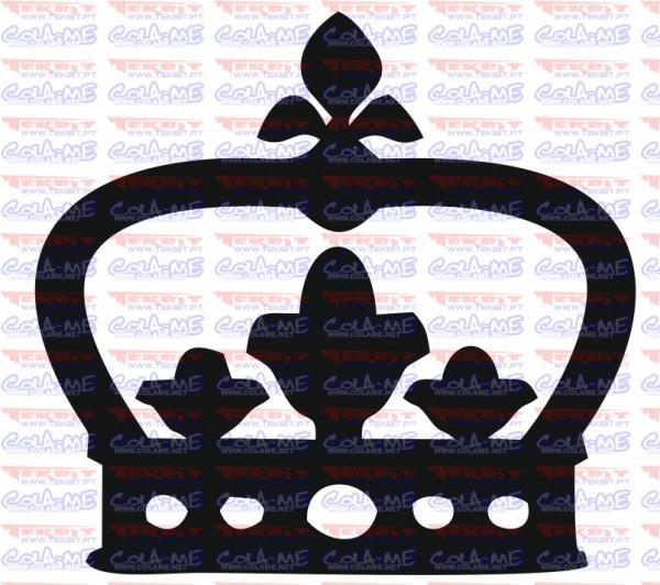 Autocolante - Coroa 21