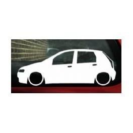 Autocolante - Fiat Punto 5 portas