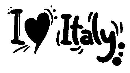 Autocolante - I love Italy