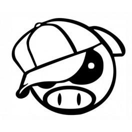 Autocolante - JDM Porco 2
