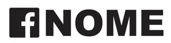 Autocolante personalizado - Facebook + Nome