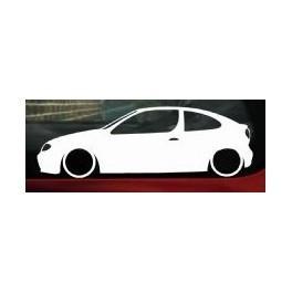Autocolante - Renault Megane Coupe