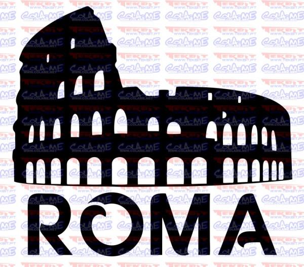 Autocolante - Roma
