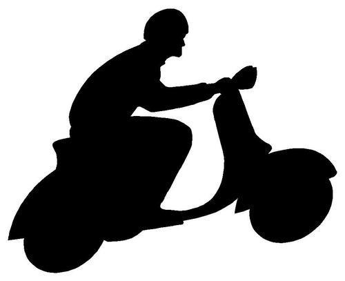 Autocolante - Scooter
