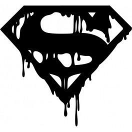 Autocolante - Super Man Death